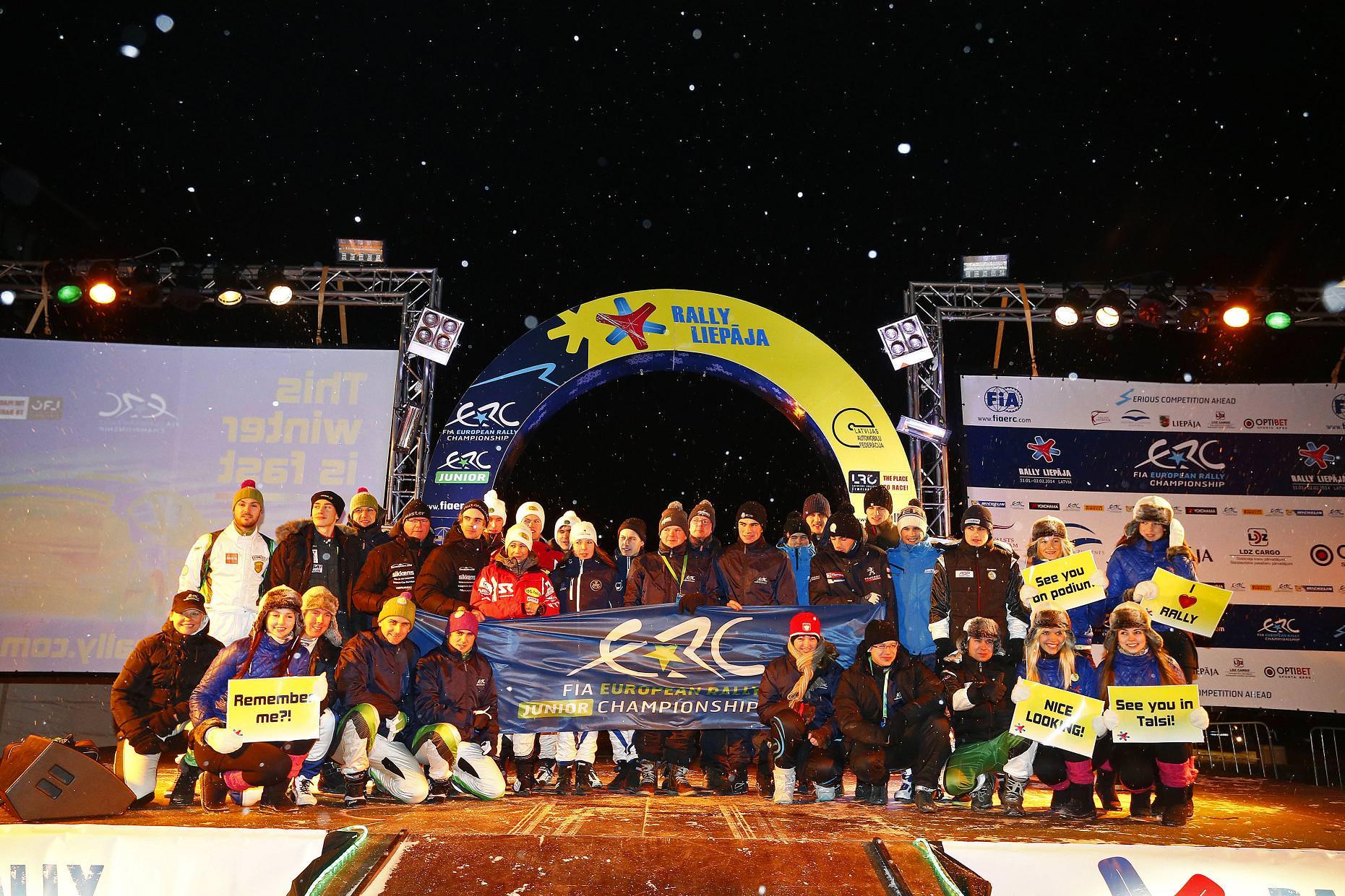 O zi dificila pentru Napoca Rally Academy in Letonia