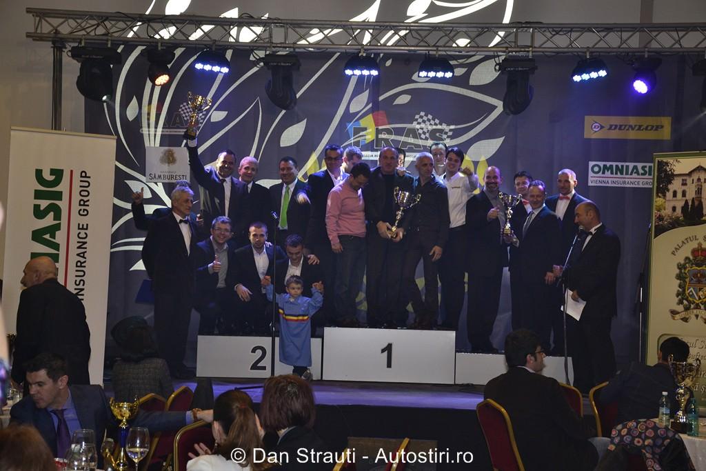 Gala Campionilor: F.R.A.S. a premiat cei mai buni sportivi