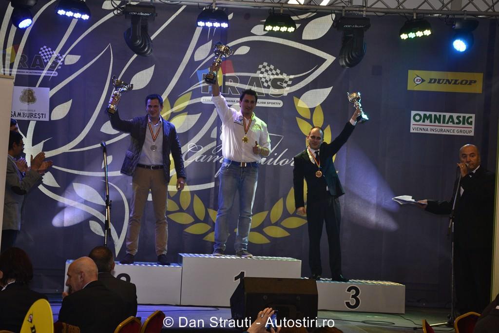 Serus Racing Club a fost recompensată cu două premii în cadrul Galei Campionilor organizate de F.R.A.S.