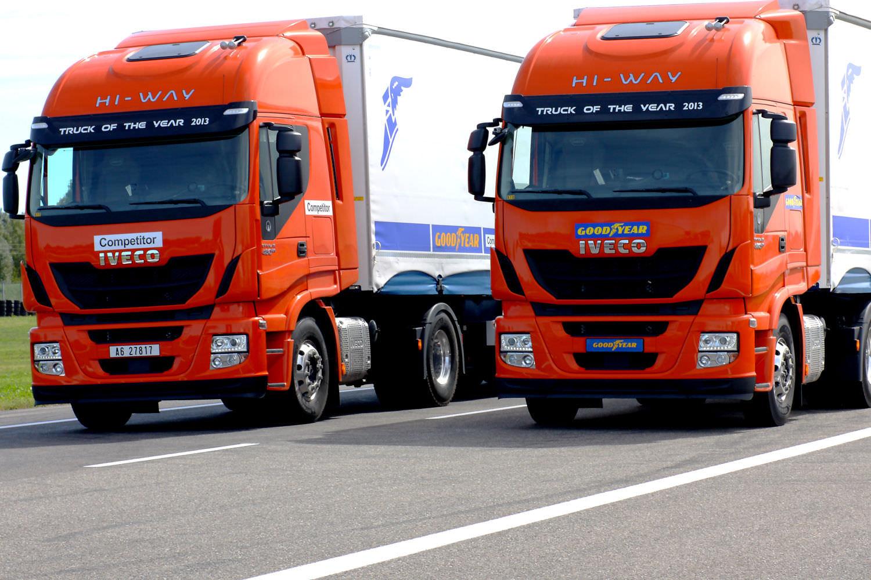 Goodyear KMax si FuelMax echipeaza IVECO Stralis