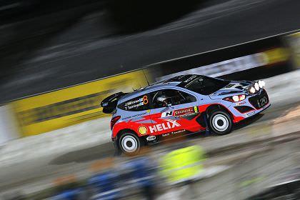 Echipa Hyundai Shell World Rally este pregatita pentru Raliul Suediei