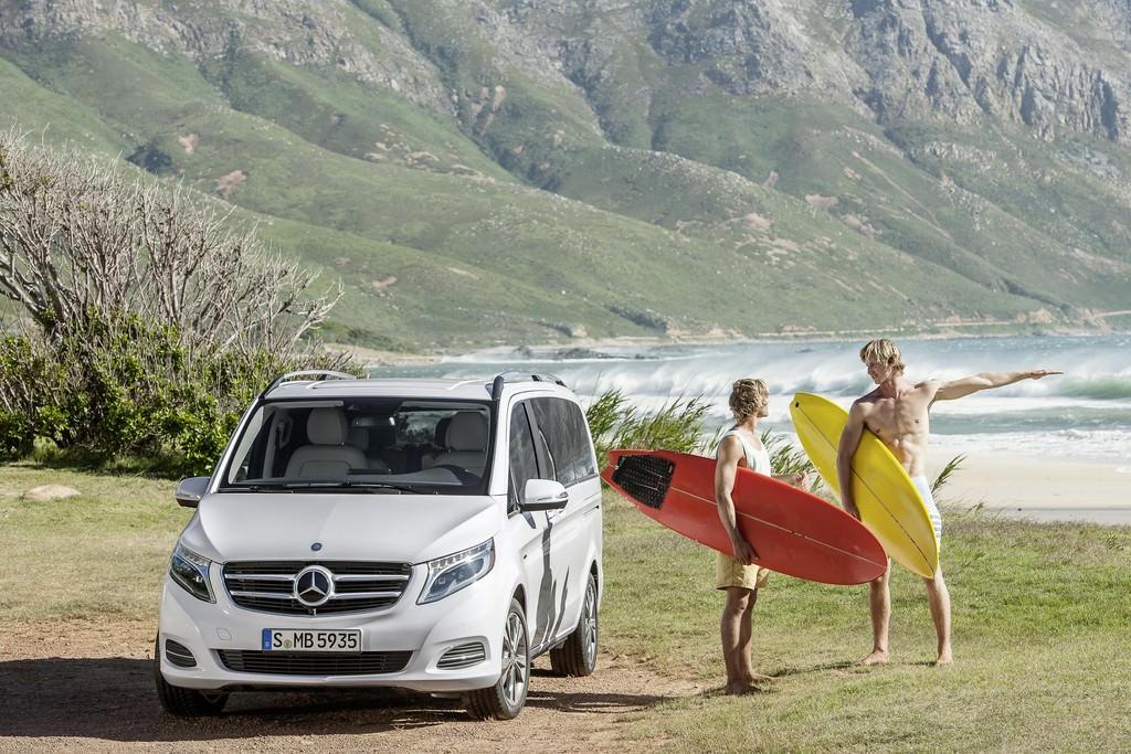 Mercedes-Benz anunta lansarea noii Clase V