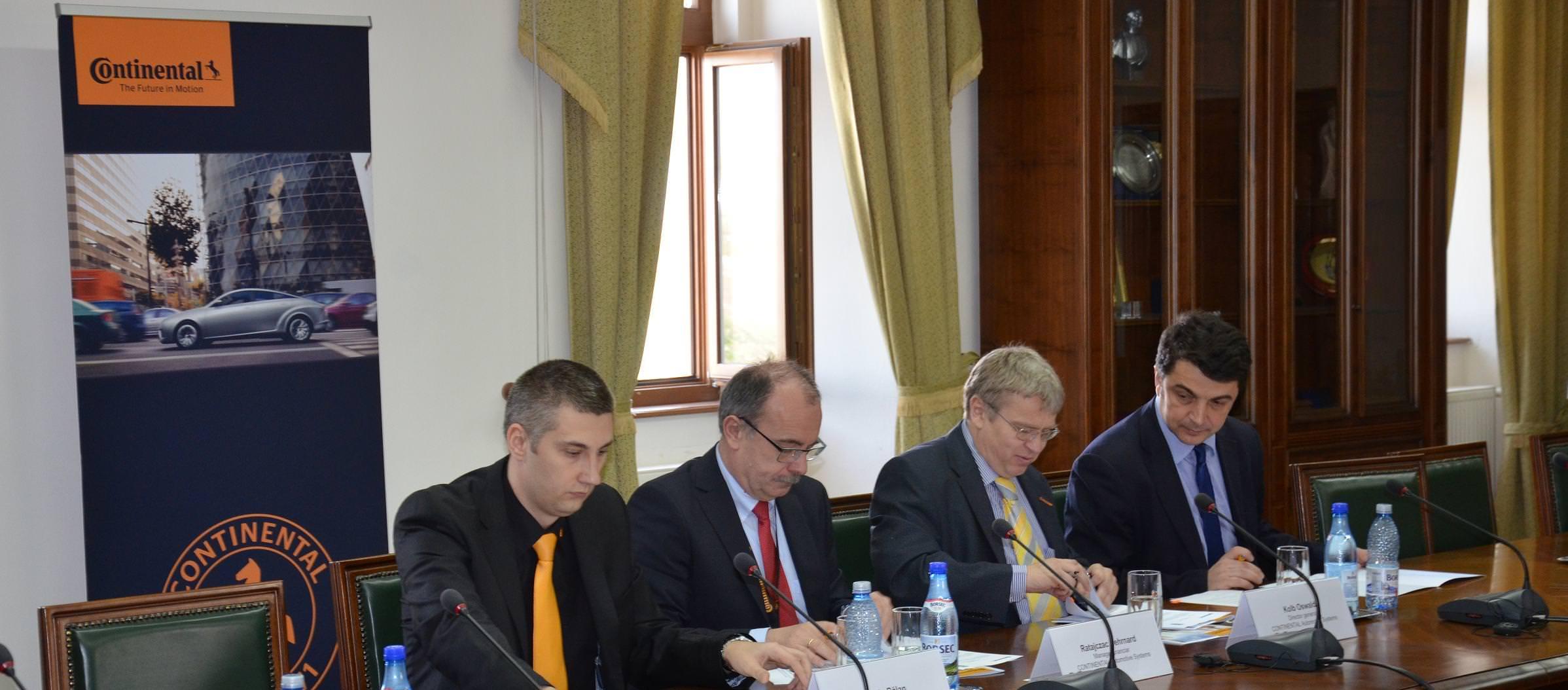 """Continental, parteneriat cu Universitatea """"1 Decembrie"""" din Alba Iulia"""
