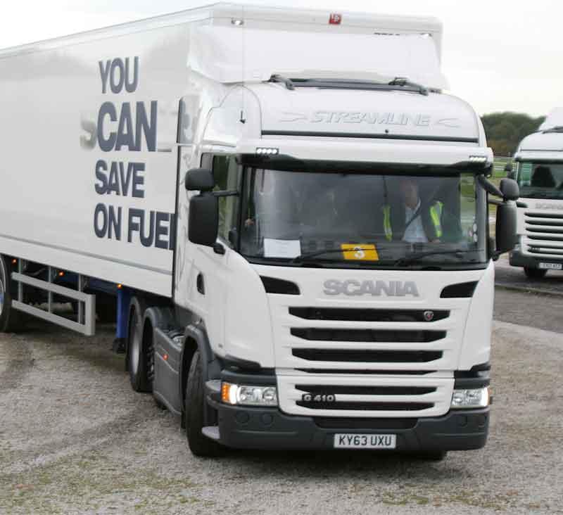 Scania G 410, test de consum