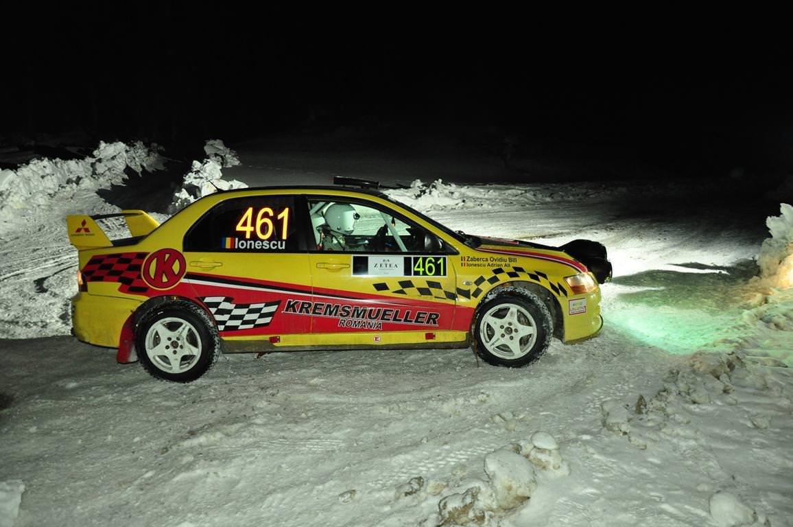Raliul Zapezii, singura competitie din Romania pentru masini si atv-uri