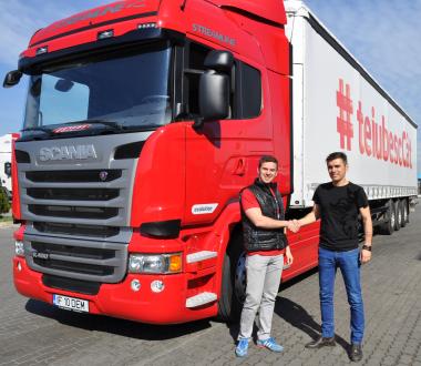 Adrian Oprea testează Scania Ecolution