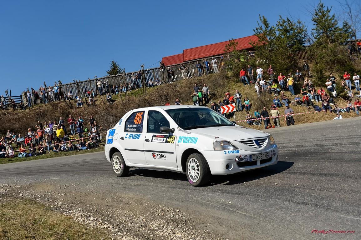 Tess Rally Romtelecom, primul pas pentru Bogdan Talasman in CNR