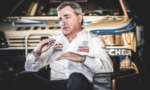 Carlos Sainz, pilot Peugeot Sport