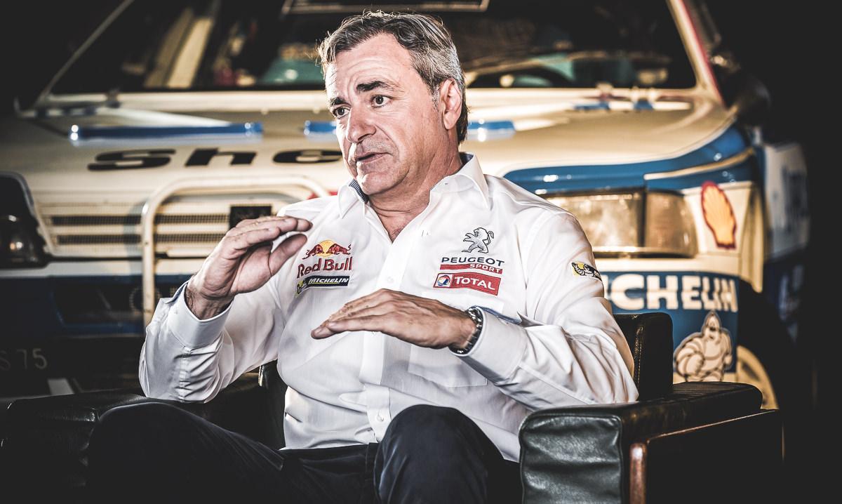 Q&A: Carlos Sainz, pilot Peugeot Sport