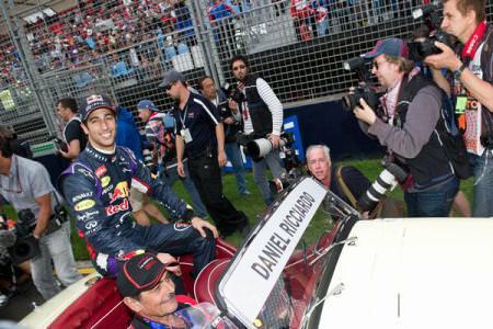 MP al Australiei – Ricciardo, descalificat