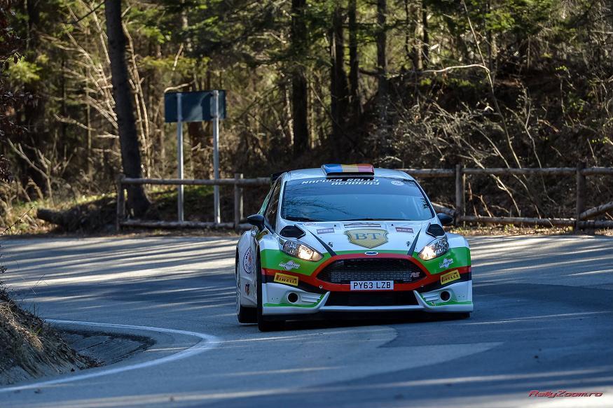 Marco Tempestini si Napoca Rally Academy, locul doi la Brasov