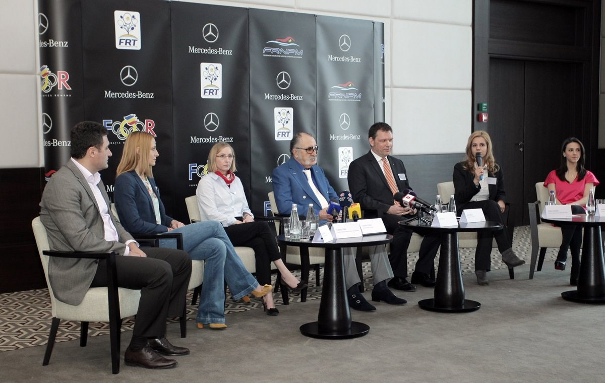 Mercedes-Benz România susţine sportul  românesc