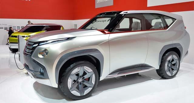 Geneva: Mitsubishi Motors Concept GC-PHEV