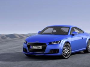 Noul Audi TT - albastru Sepang cu efect cristal