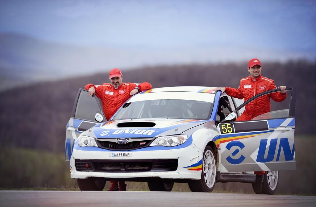 Echipajul auto motor și sport Adrian Drăgan și Vali Brădățeanu gata de start