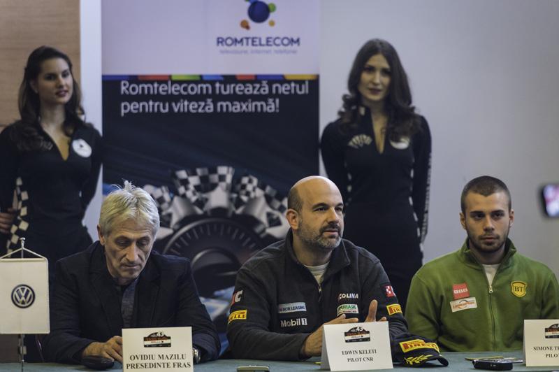 Conferinta de presa Tess Rally Romtelecom 2014