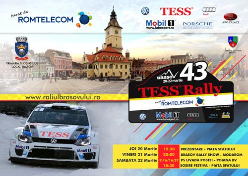 Spectacol garantat: 49 de inscrisi pentru Tess Rally Romtelecom