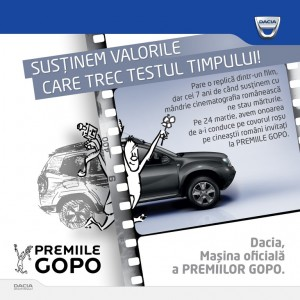 """Dacia: """"Susținem valorile care trec testul timpului"""""""