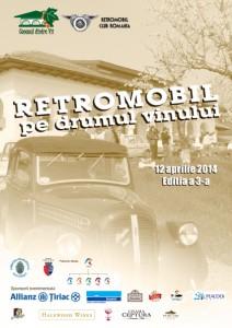 RETROMOBIL pe drumul vinului - 2014