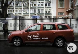 Dacia, Masina Oficiala Cinepolitica 2014