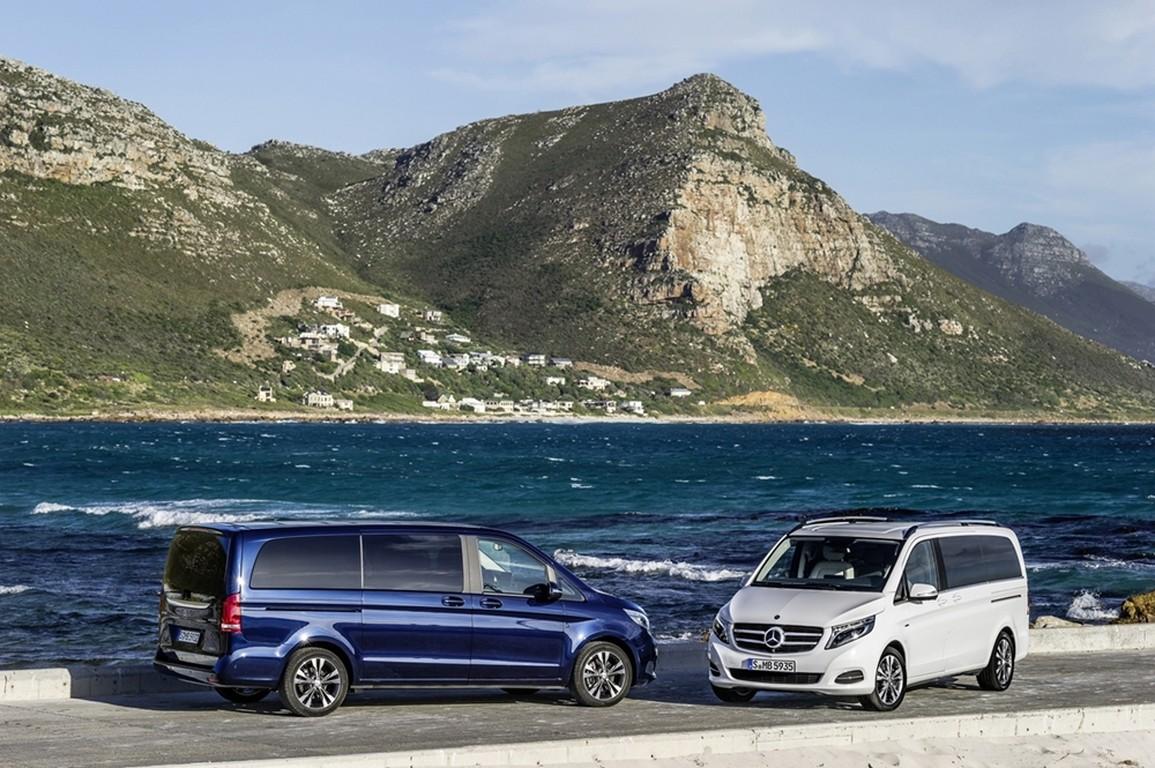 Noul Mercedes-Benz clasa V, apariţie dinamică, plină de emoţie
