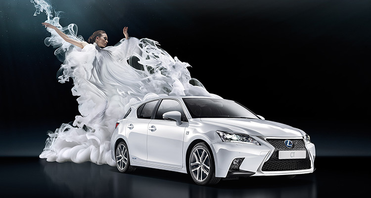Noul LEXUS CT 200h Concentrated Luxury
