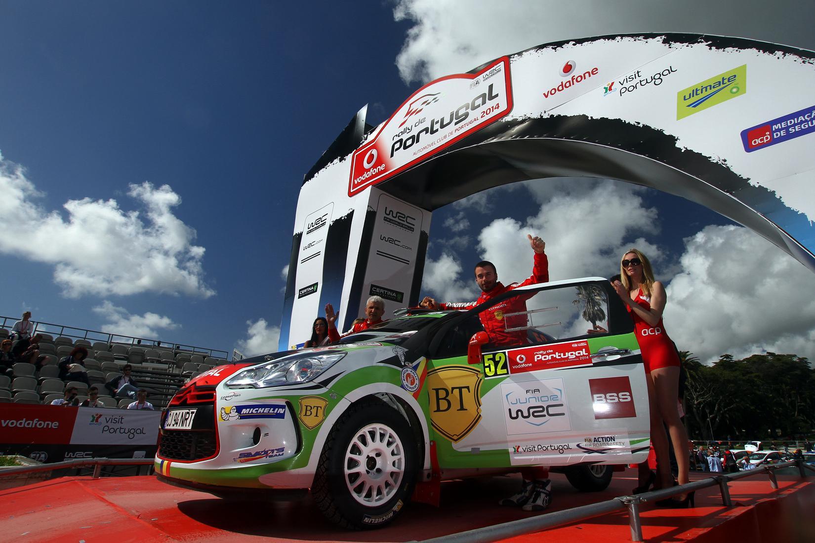 Locul 8 pentru Simone Tempestini si Dorin Pulpea dupa doua zile in Junior WRC