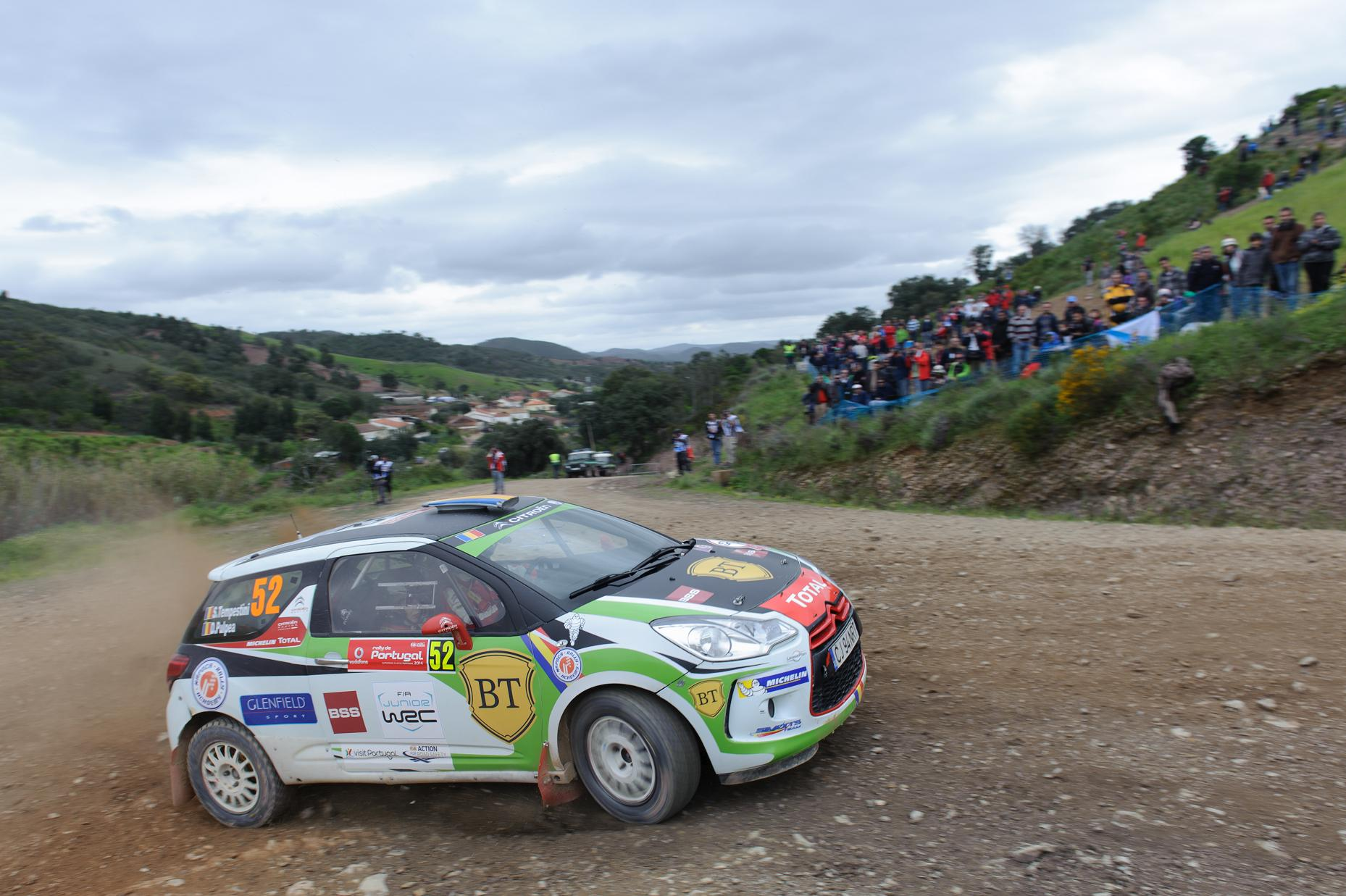 Simone Tempestini, acomodarea cu noua masina continua in Portugalia