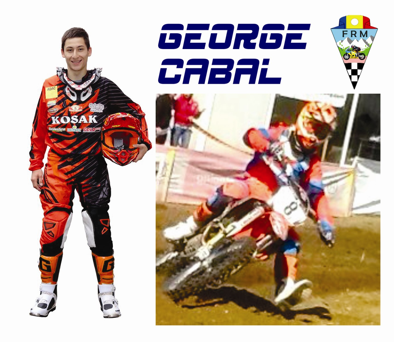 George Cabal ia startul la MXGP