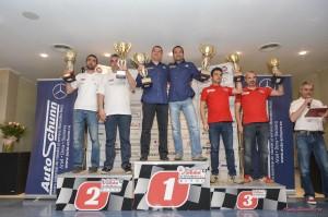 Adrian Dragan - Valentin Bradateanu - podium Raliul Aradului