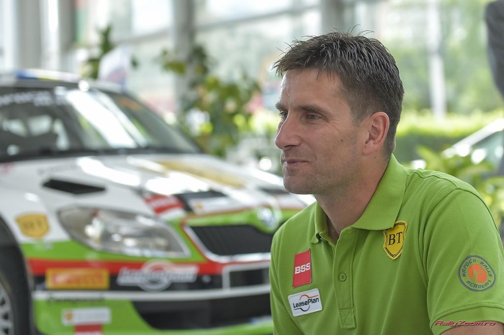 Bogdan Marisca va lua startul cu un model SKODA Fabia S2000
