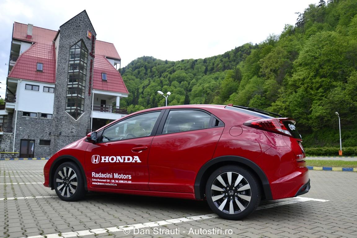 Test drive: Honda Civic 1,8 i-VTEC