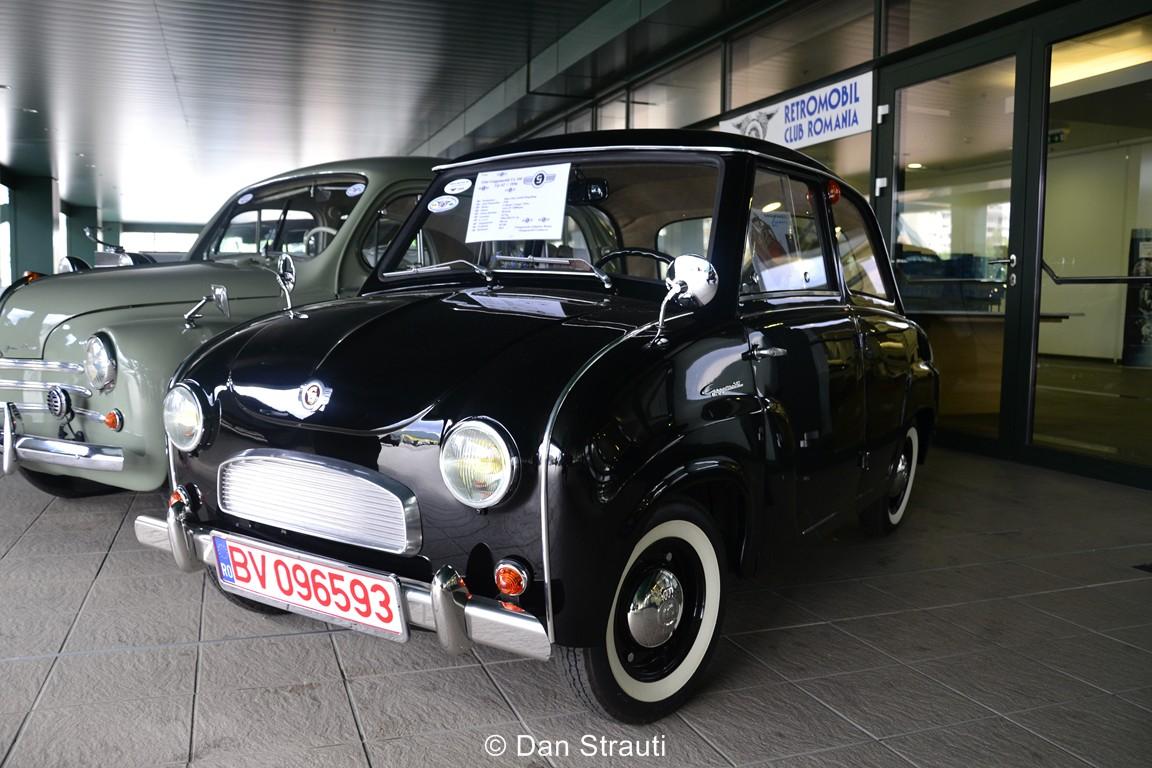 Retro Mobil Club la Salonul Auto Brasov 2014
