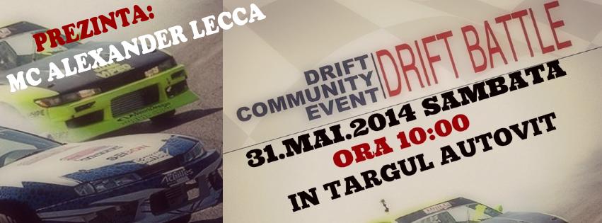 DRIFT BATTLE, un show unic in Romania – Targul Auto Vitan