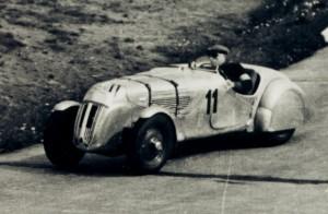 Petre Cristea pe circuitul de la Nrburgring 1939