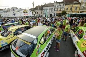 Transilvania Rally 2013 - start festiv