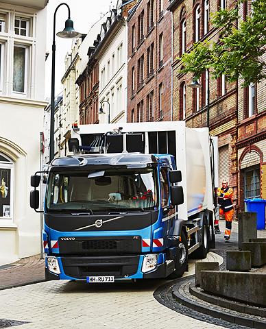 Premieră pentru noul Volvo FE