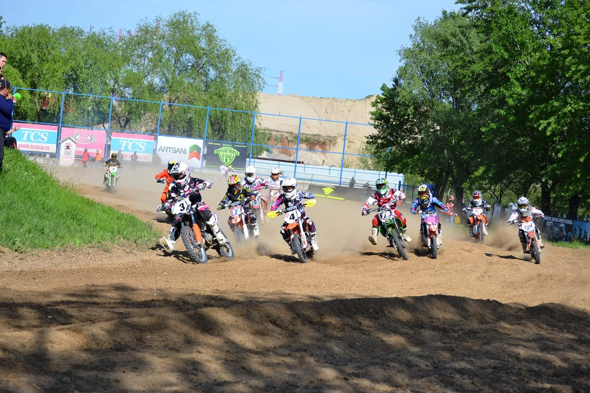 Motocross CUP: filmul etapei de la Ciolpani