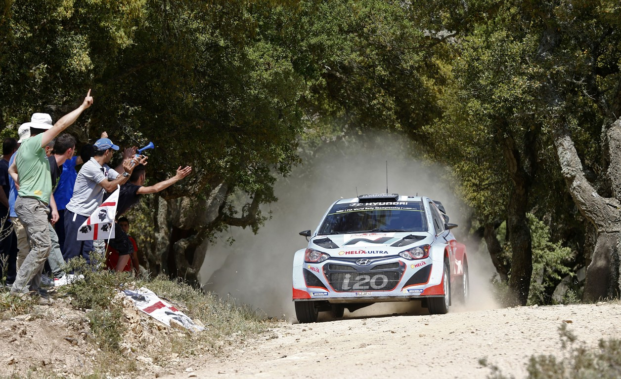 Hyundai Shell World Rally in Raliul Sardiniei