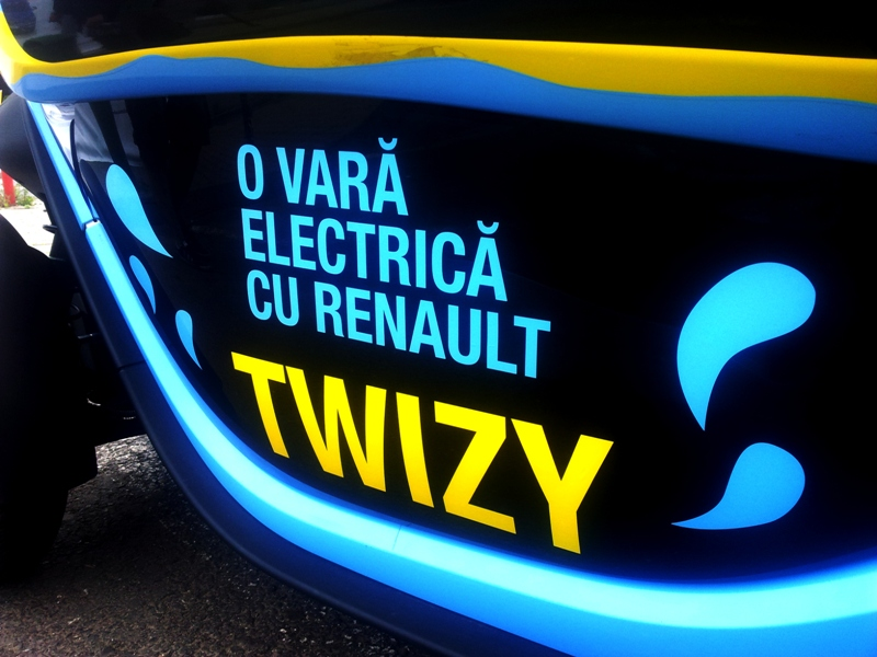 "DRIVE-TEST ""Verde"" – Renault TWIZY"
