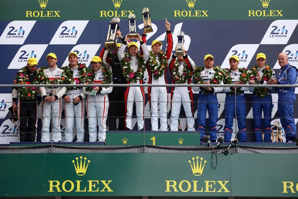 Dunlop ocupă podiumul din 2014 la cursa de 24 de ore de la Le Mans