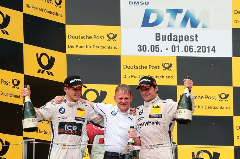 Marco Wittmann obţine cea de-a doua victorie a sezonului pentru BMW în DTM
