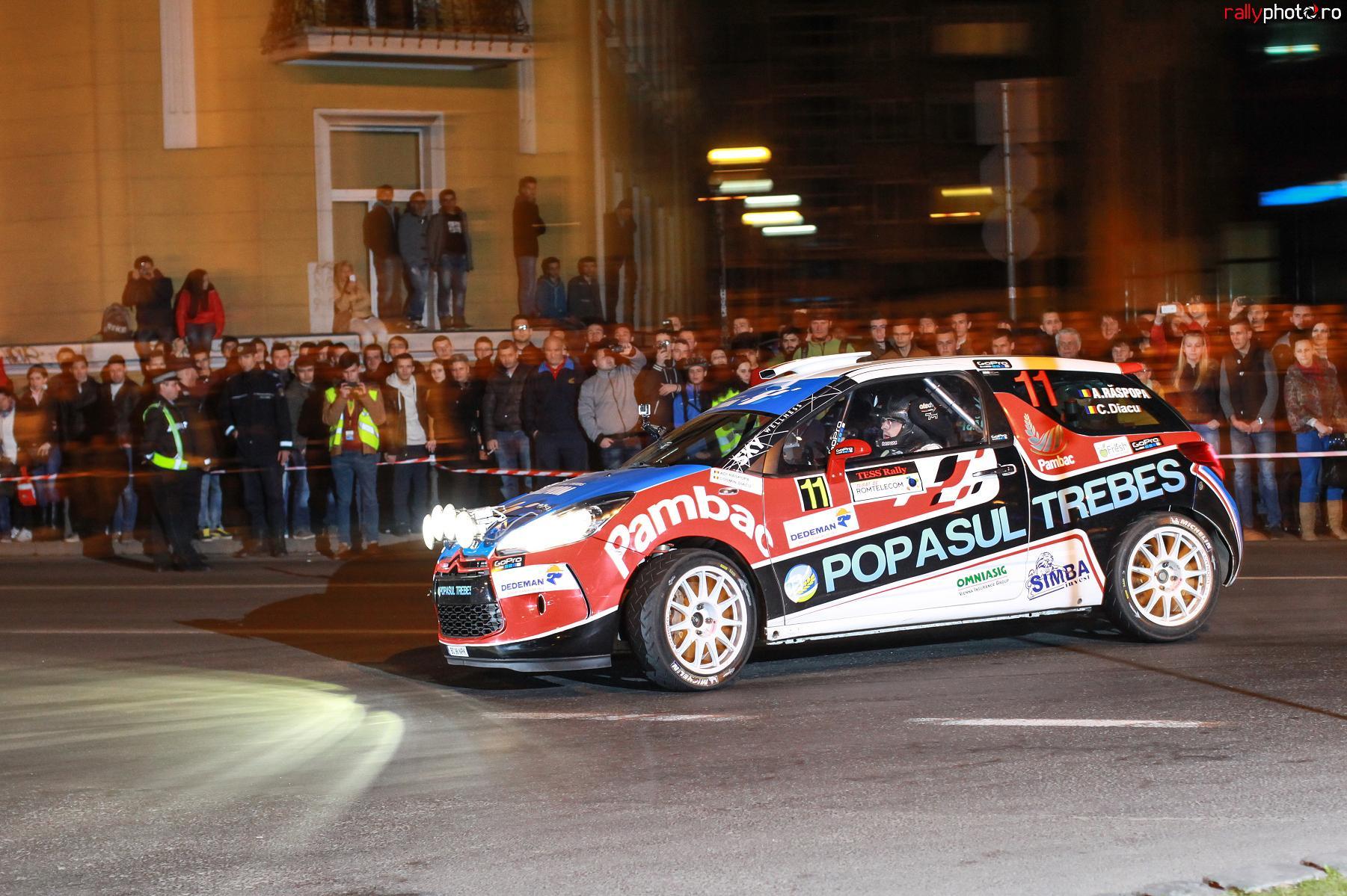 Transilvania Rally: O noua abordare pentru pentru Raspopa si Grigoriu