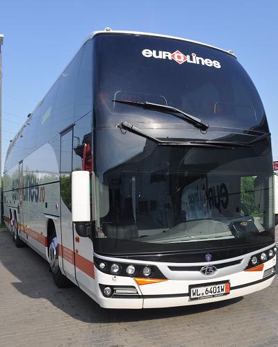 Scania Beulas Glory, noile autocare din Flota Eurolines