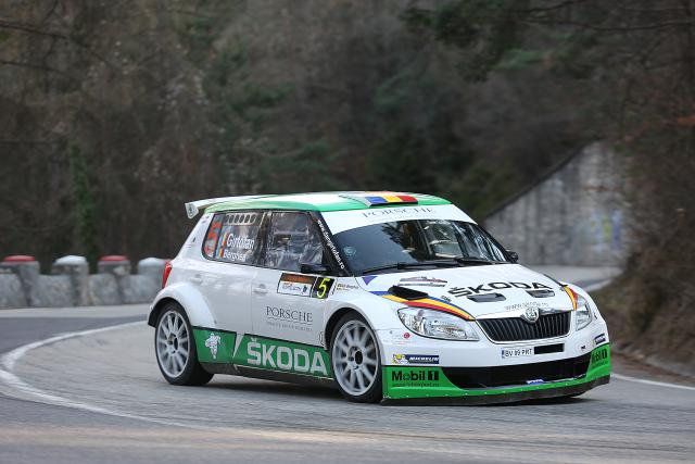Transilvania Rally 2014: Dan Gîrtofan, locul 3