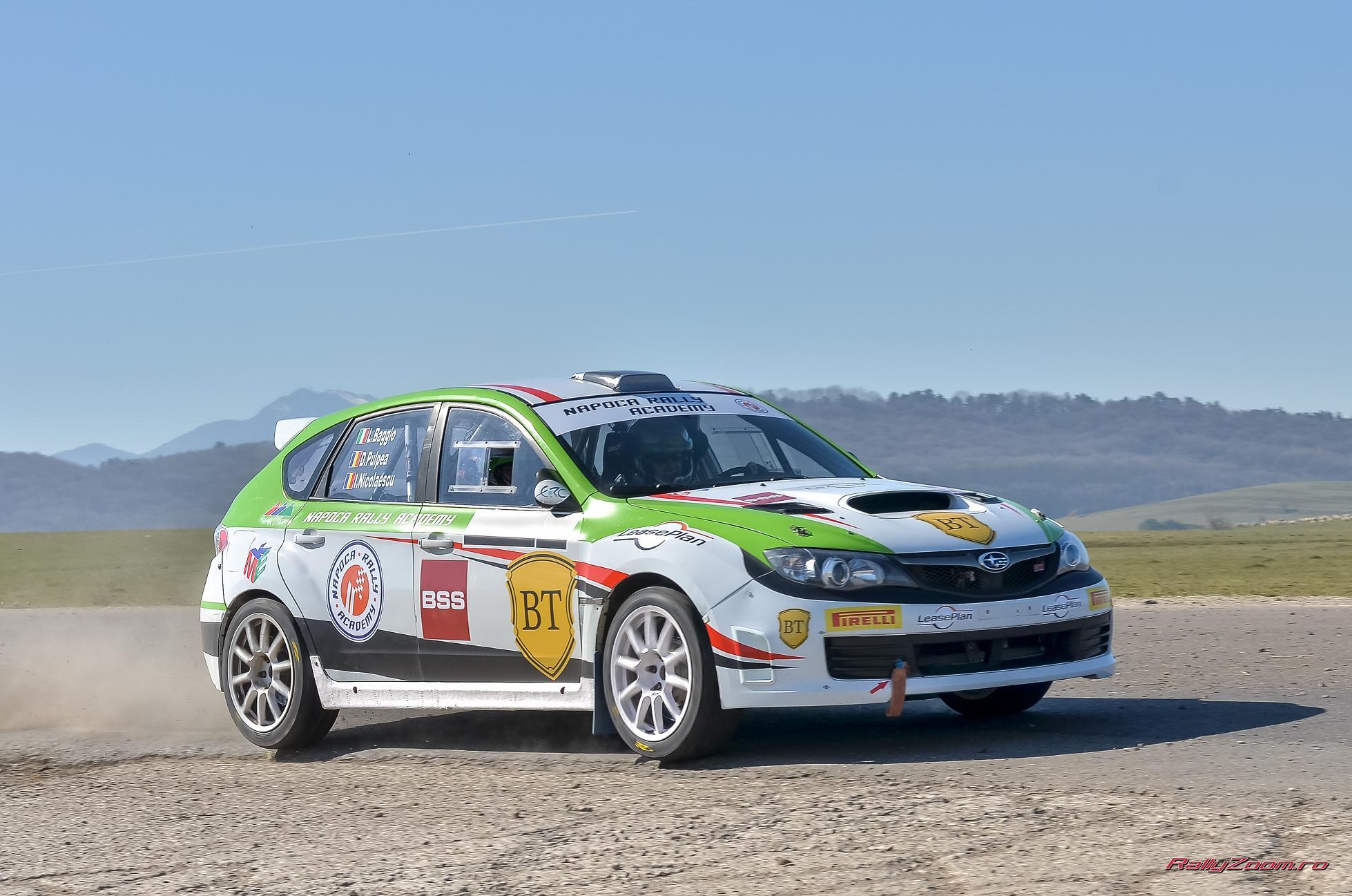 Marele Premiu al Orasului Brasov: echipa Napoca Rally Academy la start