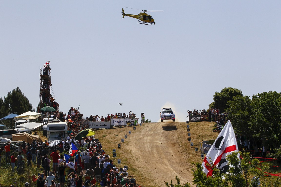 Hyundai Shell World Rally a terminat Raliul Sardiniei