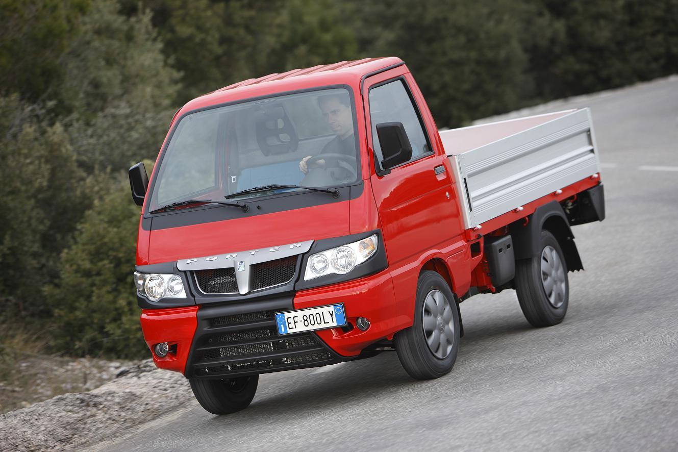 Noua gama Piaggio Porter este disponibila in Romania prin Pisa Motors