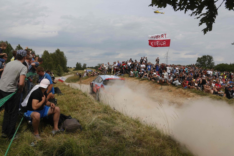 Raliul Poloniei: echipa Hyundai Shell World Rally pe podium