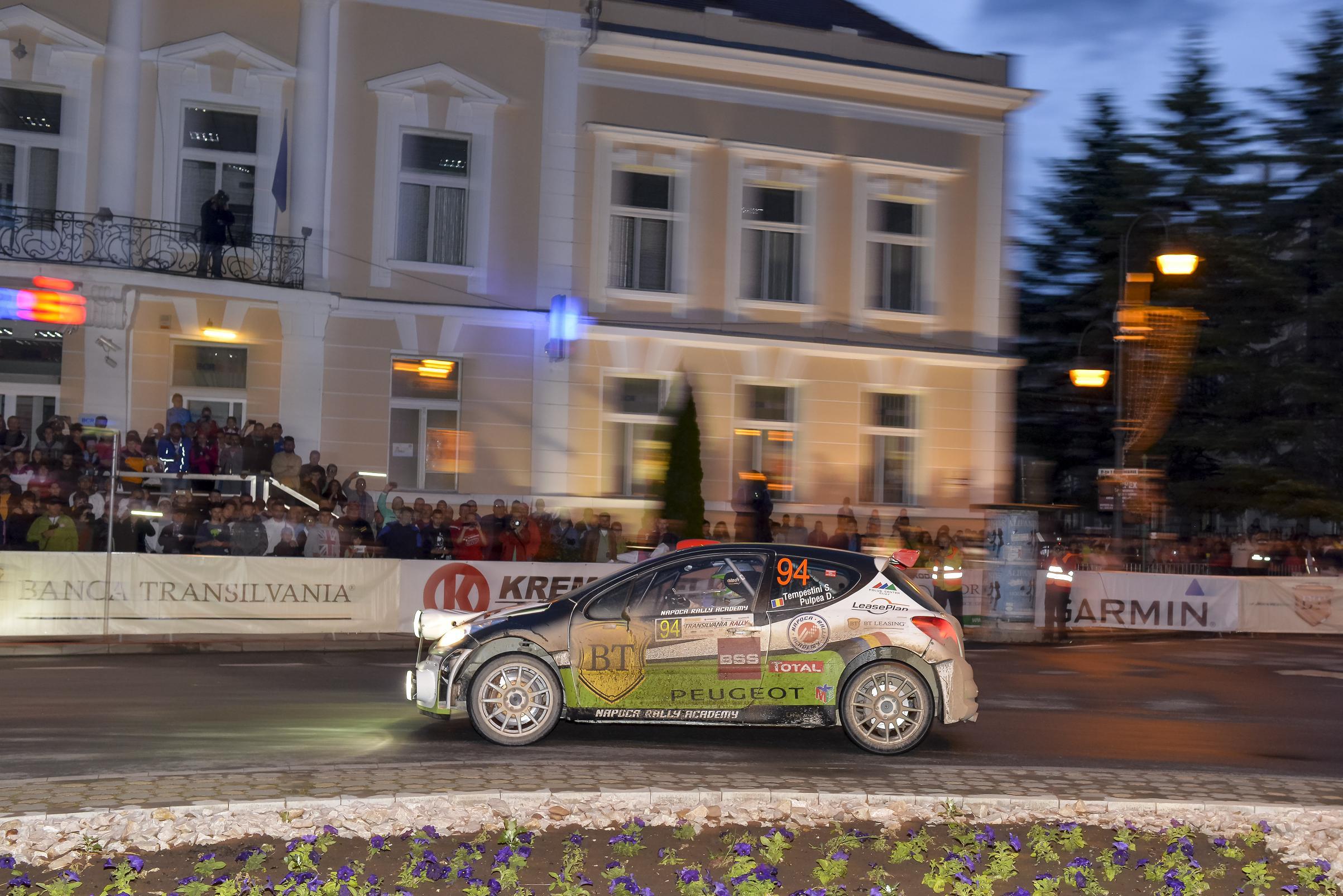 Transilvania Rally: un raliu dificil pentru echipajele NRA